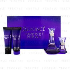 Beyonce - Midnight Heat Coffret: Edp Spray 100ml/3.4oz+ Edp Spray 15ml/0.5oz+ Shower Cream 75ml/2.5oz+ Body Lotion 75ml/2.5oz