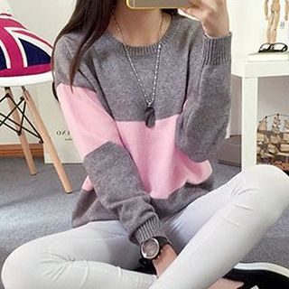 FR - Color-Block Sweater