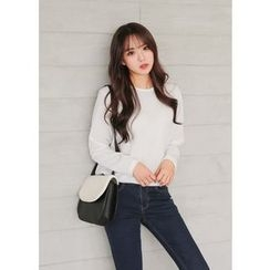 J-ANN - Long-Sleeve Knit Sweater