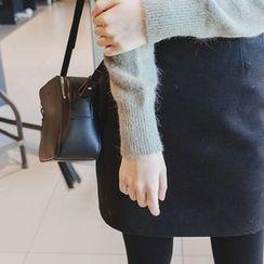 mimi&didi - Zip-Side Mini Pencil Skirt