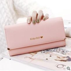 Rinka Doll - Metal Heart Tip Long Wallet
