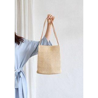 GOROKE - Straw Shopper Bag
