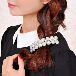 Missy Missy - Set: Faux Pearl Hair Tie + Hair Clip