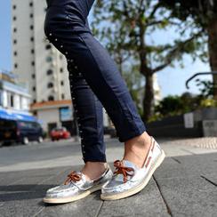 SO Central - Metallic Deck Shoes