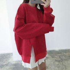 MATO - Slit Oversized Sweatshirt
