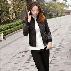 Romantica - Quilted Zip Jacket