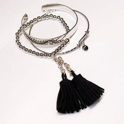 EPOQ - Tassel Layered Bangle