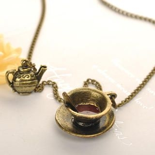 Fit-to-Kill - Coffee Cup Necklace
