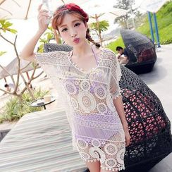 Lady J Swimwear - Crochet Cover-Up