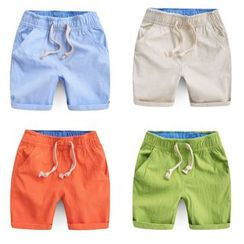 lalalove - Kids Linen Cotton Shorts