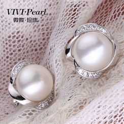 ViVi Pearl - 淡水珍珠耳环