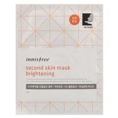 Innisfree - Second Skin Mask (Brightening)