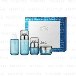 Scinic - AquaEX Set (4 items): Toner 130ml x 2 + Essence 50ml + Cream 50ml