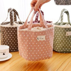 ITOK - Dotted Canvas Lunch Bag
