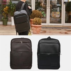 Smallman - Faux-Leather Backpack