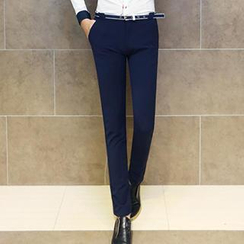 Besto - Slim-Fit Dress Pants