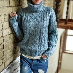 Polaris - Turtleneck Mohair Sweater