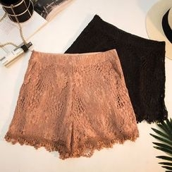 Honey House - Lace Shorts