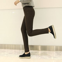 CLICK - Fleece-Lined Leggings Pants