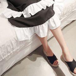 NANING9 - Sling-Back Espadrille Sandals