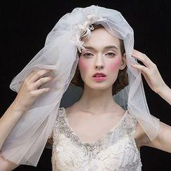 constello - Feather Wedding Veil