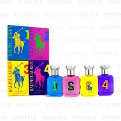 Ralph Lauren - The Big Pony Fragrance Collection Coffret: (#1, #2, #3, #4 Eau De Toilette)