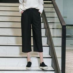 Tonya - 七分寬身褲