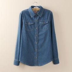 Tangi - Washed Denim Shirt