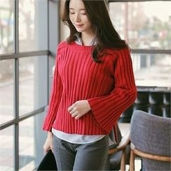 CHICLINE - Ribbed Sweater