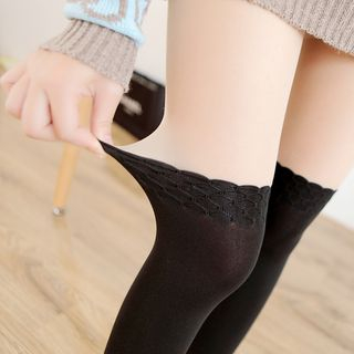 Two-Tone Tights