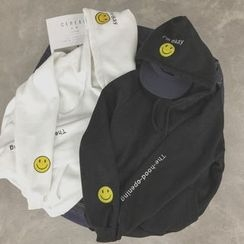 MayFair - Smiley Fleece-Lined Sweatshirt