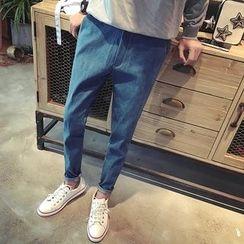 Jimboy - 垂胯修身牛仔褲