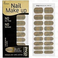 imco - 3D Premium Nail Make Up Sticker (#310 Rock Gold)