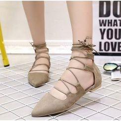 BAYO - 繫帶平底鞋