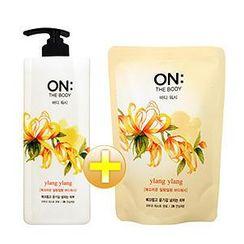 ON: THE BODY - Ylang Ylang Set: Body Wash 500g + Refill 250g
