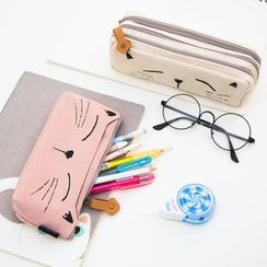 Show Home - Cat Print Pencil Case