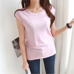 PIPPIN - Cap-Sleeve Slim-Fit Top