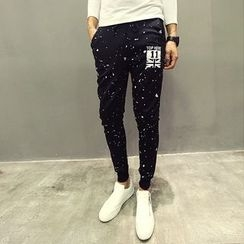 Evolu Fashion - Printed Jogger Pants