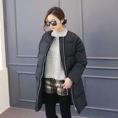 DANI LOVE - Zip-Up Puffer Coat