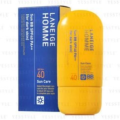 Laneige - Homme Sun BB Cream SPF 40 PA++ (for Dark Skin)