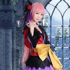 Coshome - Vocaloid Megurine Luka Cosplay Costume