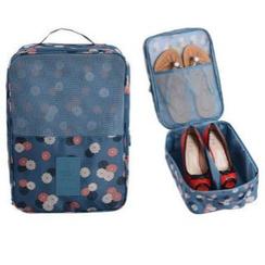 Evorest Bags - 印花旅行鞋子收納包