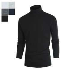 DANGOON - Turtle-Neck Brushed-Fleece Lined Top