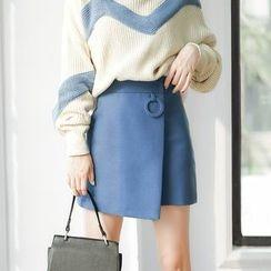 AC - Wool A-Line Skirt