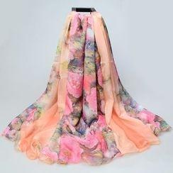 Salomi - 印花雪纺丝巾