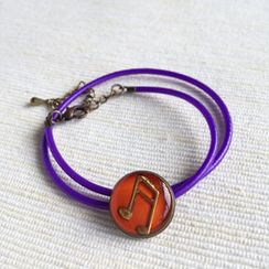 MyLittleThing - Purple Music Double Bracelet
