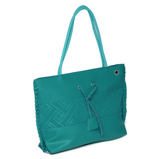 YesStyle Bags - Braided Strap Embossed Tote