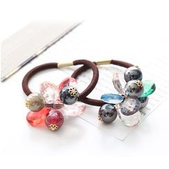 Coolgirl - Crystal Bead Hair Tie