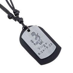 KINNO - Virgo Tag Necklace
