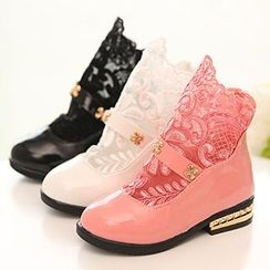 Luco - Kids Lace Panel Boots